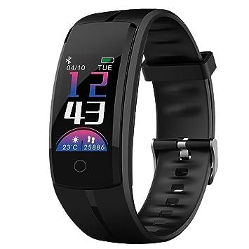 Zeerkeer Pulsera de Actividad,bluetooth fitness watch con podómetro / Monitor de Ritmo Cardíaco/ Monitor de la presión arterial / Monitor Sueño / modo ...