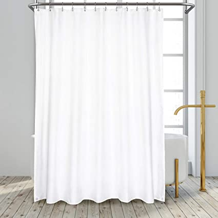 N/&Y HOME XL Fabric Shower Curtain Liner 96 x 78 Inch Mild.. New Hotel Quality