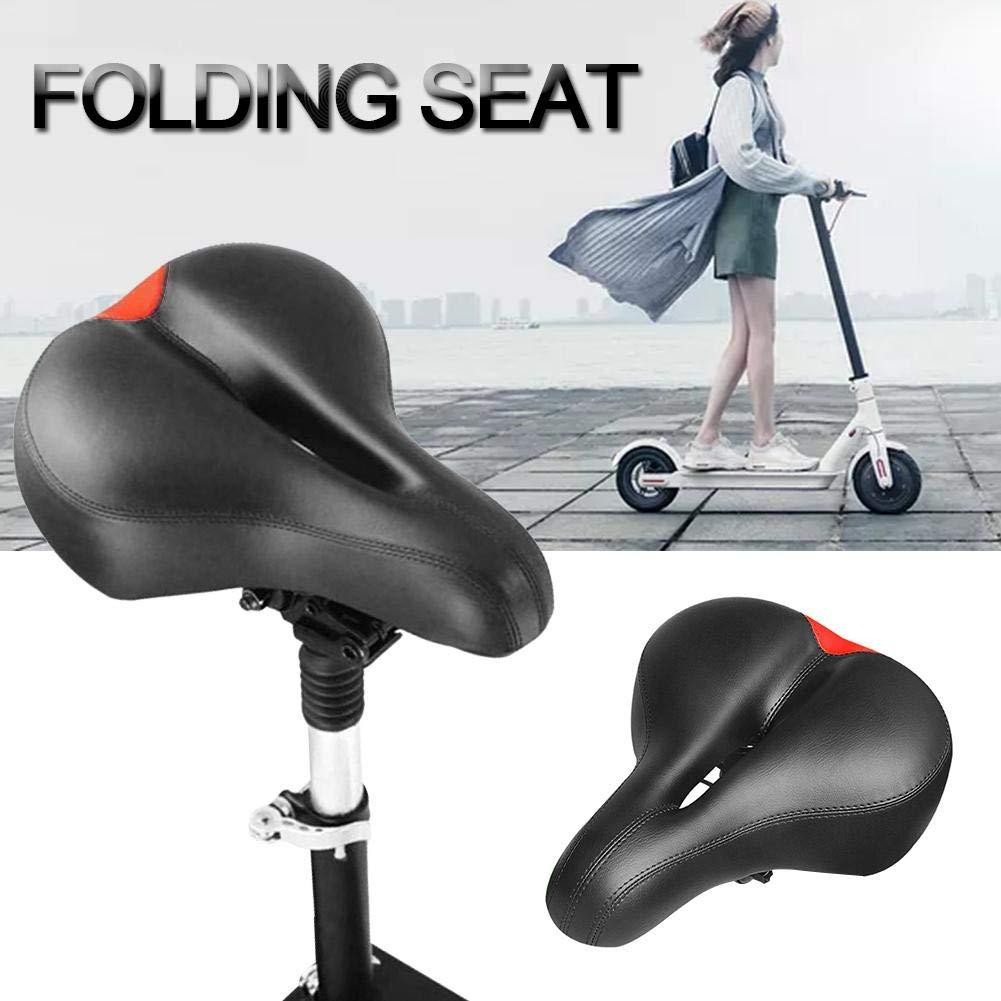 iShin/é Selle /Électrique de Planche /à roulettes Xiaomi M365 Scooter Pliable Hauteur R/églable Absorbant la Chaise Pliante de Si/ège