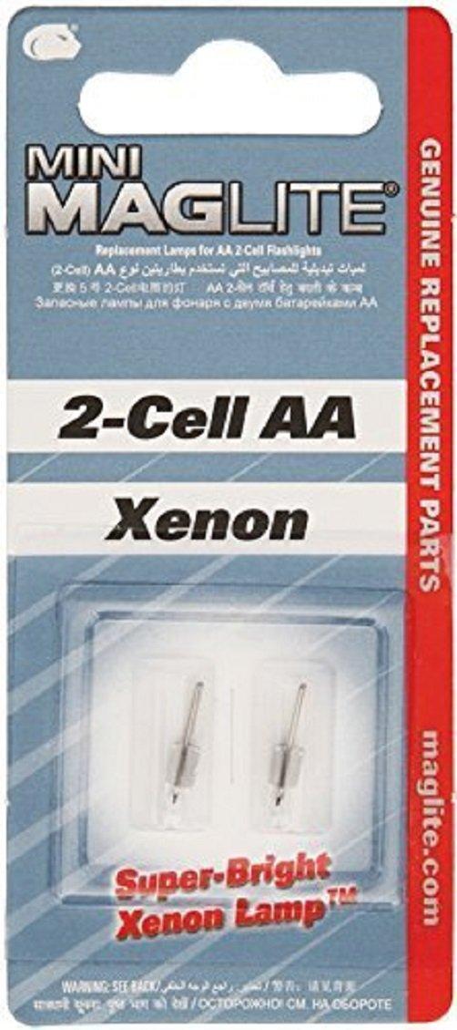 Linterna Maglite : 2 Lamparas Para 2-Celdas AA Mini 2