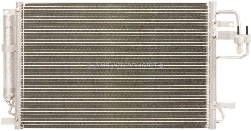 BuyAutoParts 60-80722R6 New For Hyundai Tucson 2006-2009 AC Compressor w//A//C Condenser /& Repair Kit