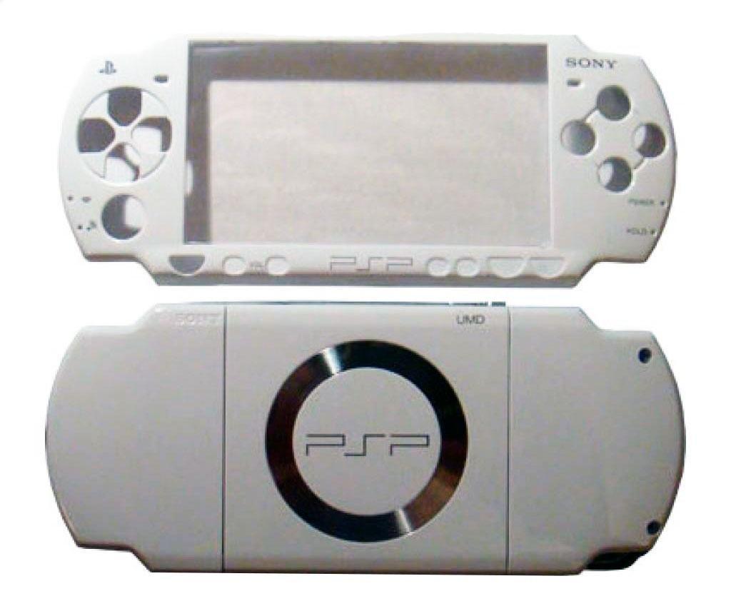 Carcasa Completa PSP SLim Blanca: Amazon.es: Electrónica