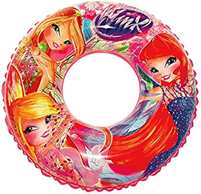 BEACH ART rosquilla Linea Winx, Anillo Playa Hinchable niña, Rosa ...