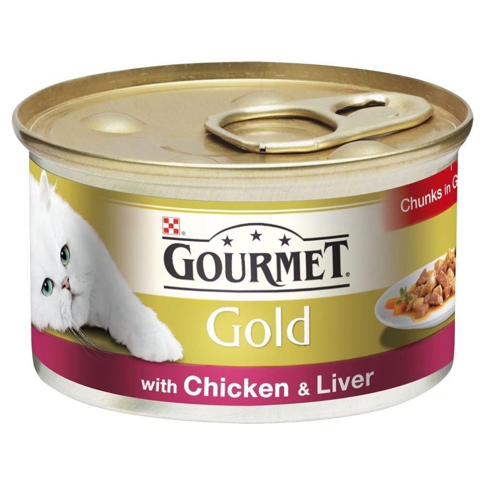 Gourmet Gold Chicken & Liver in Gravy (85g)