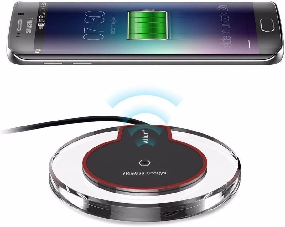 for Samsung Galaxy S7 / S7 Edge, WwWSuppliers Universal Wireless Charger Pad Qi Standard Cable Free Charging Station ~ Cargador Inalambrico de Celular ...