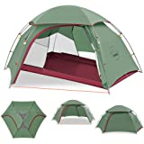 KAZOO Outdoor Camping Tent Durable Lightweight Waterproof Backpack Tents 2 Person Hiking Tent Backpacking Easy Setup