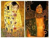 snowman refrigerator magnet - Buttonsmith Gustav Klimt The Kiss Art Nouveau Rectangular Refrigerator Magnet Set - Made in the USA