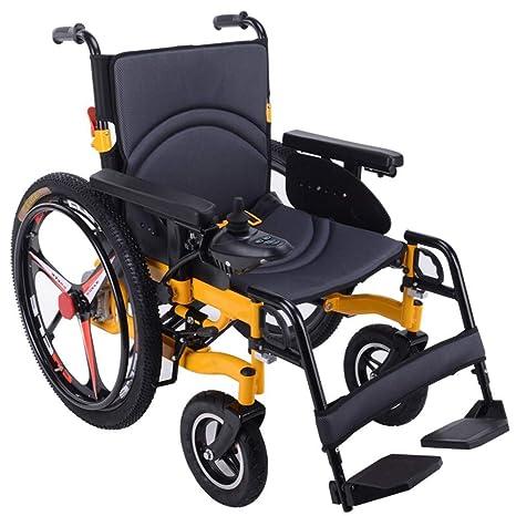 AOLI Silla de ruedas eléctrica para trabajo pesado, silla de ...
