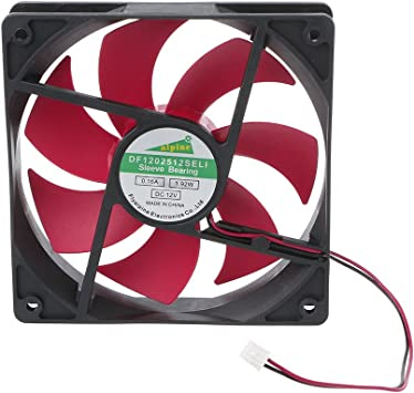 DC Brushless Cooling Blower Fan 12V 0.2A 12025s 120x120x25mm 4 Pin Wire Fan UE