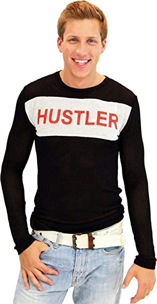 8ba419268 Fight Club Tyler Durden Hustler Mesh Mens Costume Shirt (Adult Small/Medium)