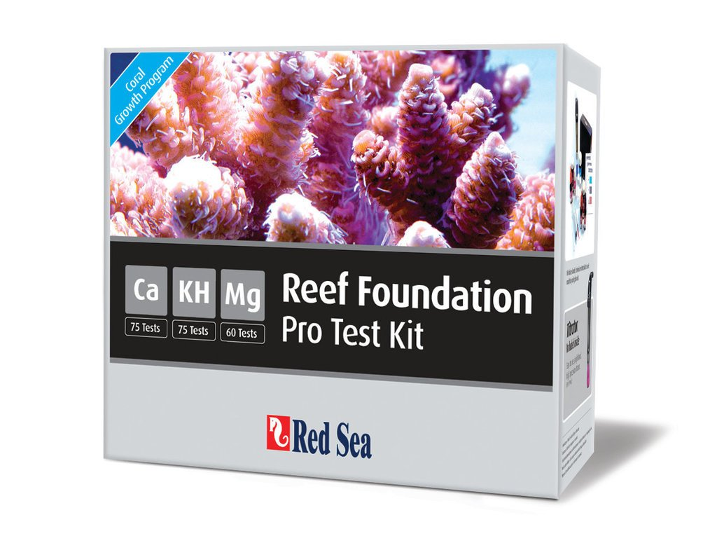 Red Sea r21510 Reef Foundation Pro Test Kit para Riff Acuarios: Amazon.es: Productos para mascotas