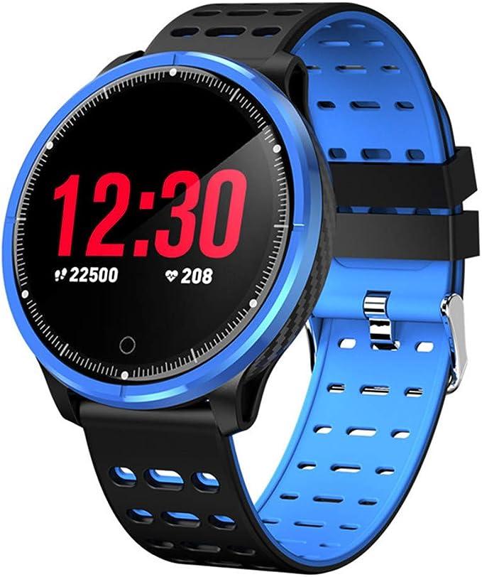 Amazon.com: P71 Smart Bracelet Round Touch Screen Fitness ...