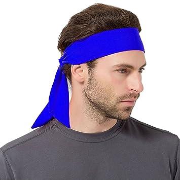 Brave Pioneer Herren Stirnband Sport Schweißband Kopfband Damen Elastische Haarband rutschfest Knoten Für Sport Freizeit Fußball Fitness Yoga Joggen