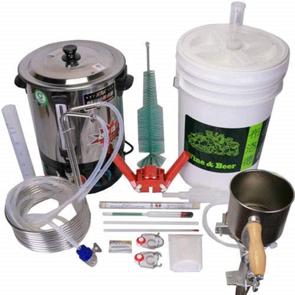 YUEWO 28L DIY Moonshine Still Home Beer Distiller Brewing Equipment Tool Kit