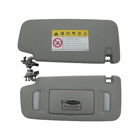 Amazon.com  Interior Sun Visor LH Gray 1P For GM Chevrolet Cruze 2008-2013  OEM Parts  Automotive ef494b1811c