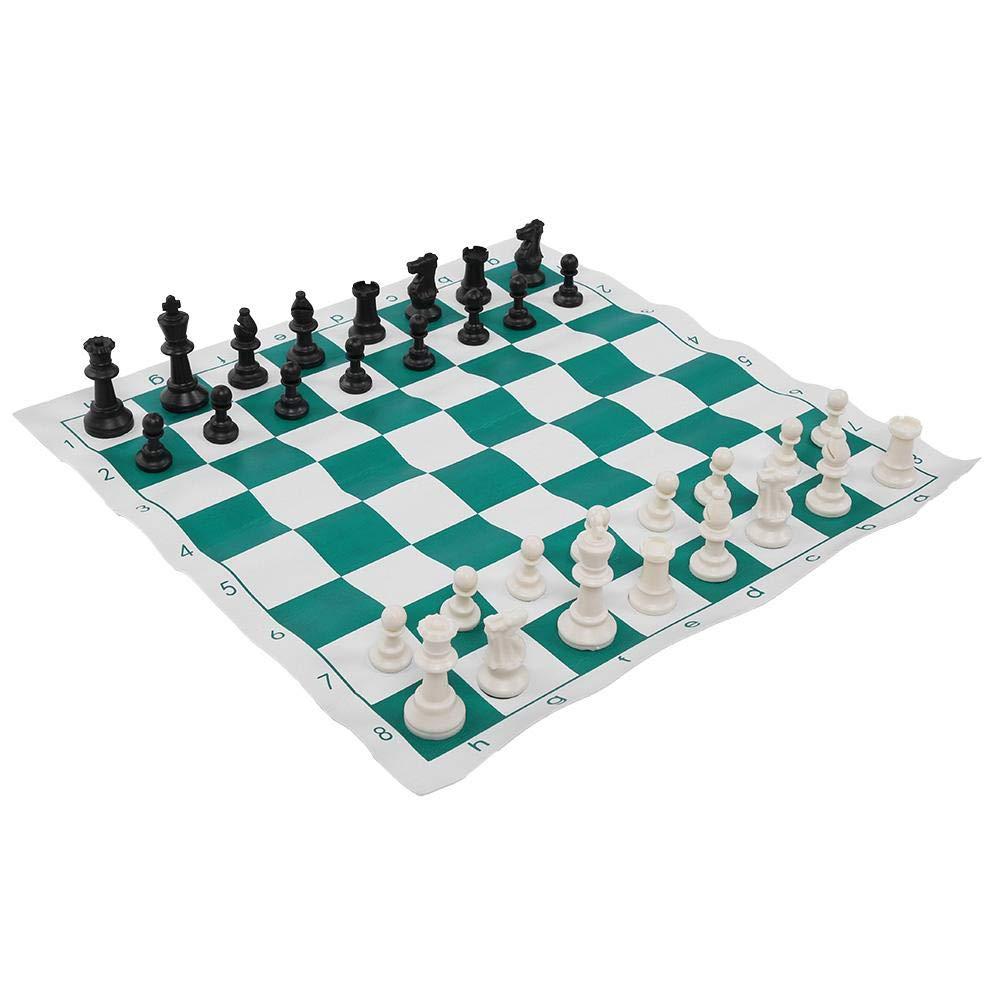 Alomejor Juego de ajedrez Torneo de Peso Piezas de ajedrez Port/átil de pl/ástico Ajedrez Internacional Juego de Mesa de Entretenimiento Medieval Medieval