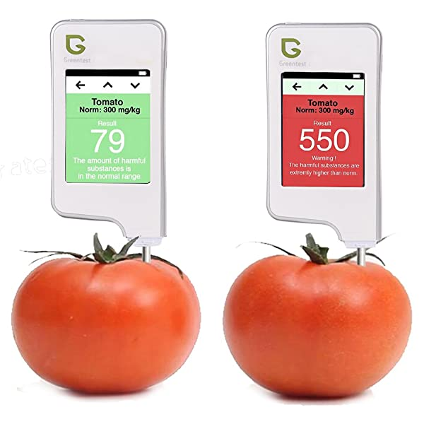 Greentest, High Accuracy Food Detector, Nitrate Tester for Fruit and Vegetable,White
