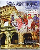 img - for Via Antiqua: Western Literature AND Arts I book / textbook / text book