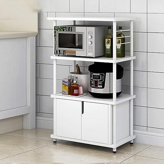 Fácil instalación 60 * 36 * 99,8 Cm estante de la cocina, de tres ...