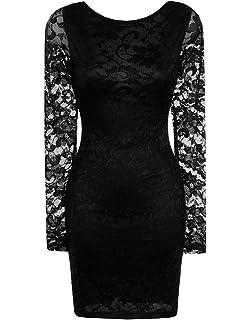 de3fe54d42e JapanAttitude Robe Noire sans Manches élastique Moulante avec ...