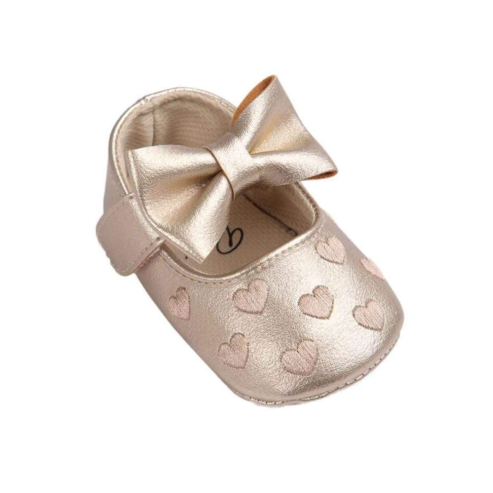 Lurryly❤Newborn Baby Premium Soft Sole Prewalker Anti-Slip Shoes Sneakers(Infant/Toddler)