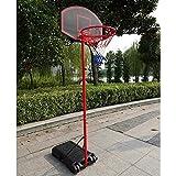 StarsDeals Basketball Hoop Adjustable Backboard Rim Portable Indoor Outdoor Fitness Mini