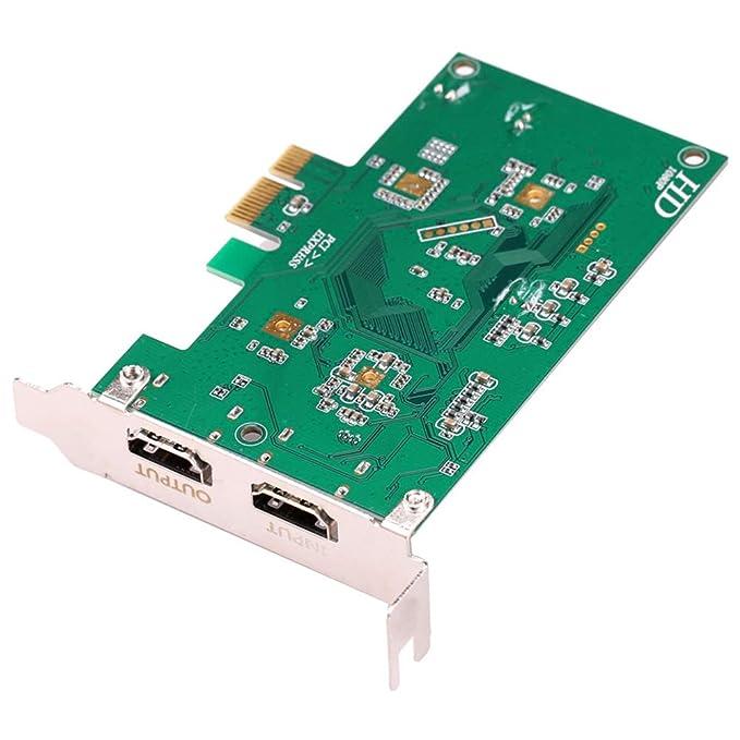 Amazon.com: SODIAL Tarjeta de captura de vídeo PCI Express ...