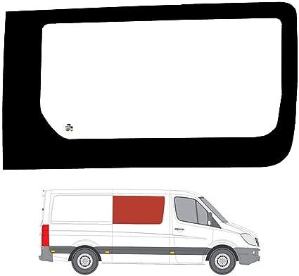 Derecho Lado Claro fijo ventana Panel OPP. Puerta Corredera Cristal para VW Crafter (06 – 17): Amazon.es: Coche y moto