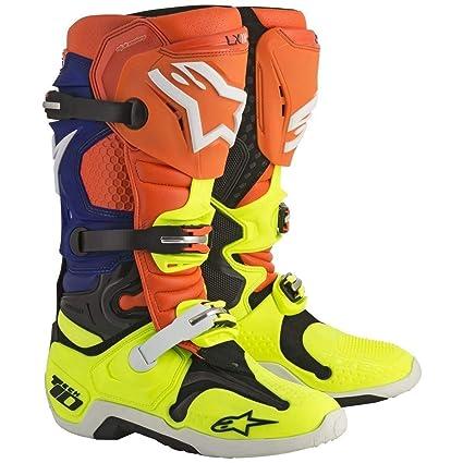 Black Yellow Fluo Sidi Faenza Motorcycle Motorbike Long Race Boot Socks