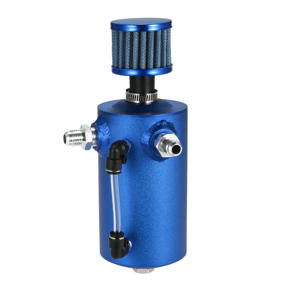 KKmoon Tanque de Gasolina Universal Aluminio 0.5L Respiradero con Filtro de Ventilación: Amazon.es: Coche y moto