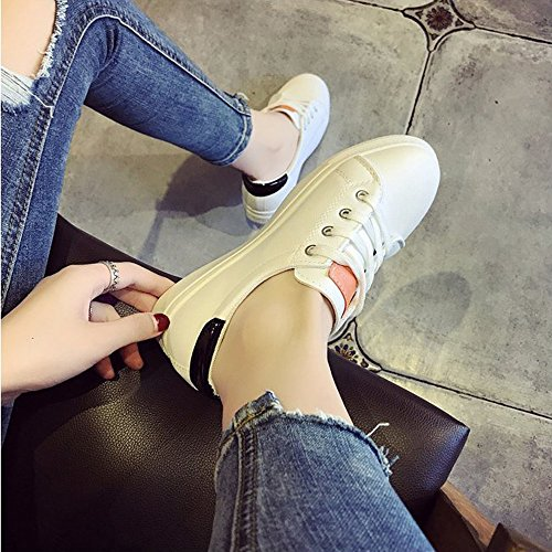 Solide Yesmile Noir Chaussures Chaussures Skate Gym Chaussures Couleur Chaussures Femmes Casual Femmes Course Mode De Chaussures TH15wqI