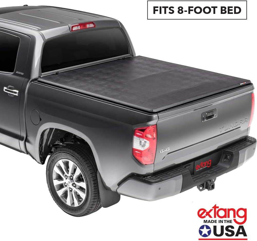 07-13 Without Track System fits Chevy//GMC Silverado//Sierra 5 ft. 8 in Extang Trifecta 2.O Soft Folding Truck Bed Tonneau Cover 92645