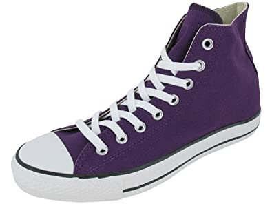 e1dd443ea88eb7 Converse Chuck Taylor All Star Hi Top Purple Passion Canvas Shoes with Extra  Pair of Black