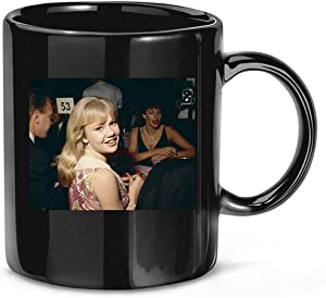 #Hayley #Mills #Candid #at #Party Coffee Mug for Women and Men Tea Cups