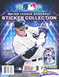 2018 Topps MLB Baseball Stickers HUGE 32 Page Collectors Sticker Album with 6 Bonus Stickers! Great Collectible to House all your Brand New 2018 Topps Baseball Stickers! This Product is a Home Run!