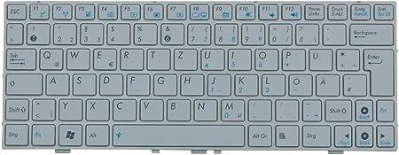 Asus EEE PC 1000HE - Teclado Original, Color Blanco