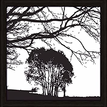 Artland Wand Bild Poster Kunstdruck Mit Rahmen Jule Landschaft