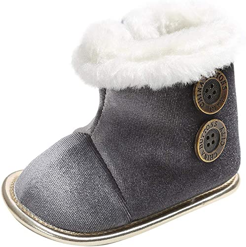Tefamore Zapatos Bebe Invierno Botines De Bebé Niña Niño Botas de ...