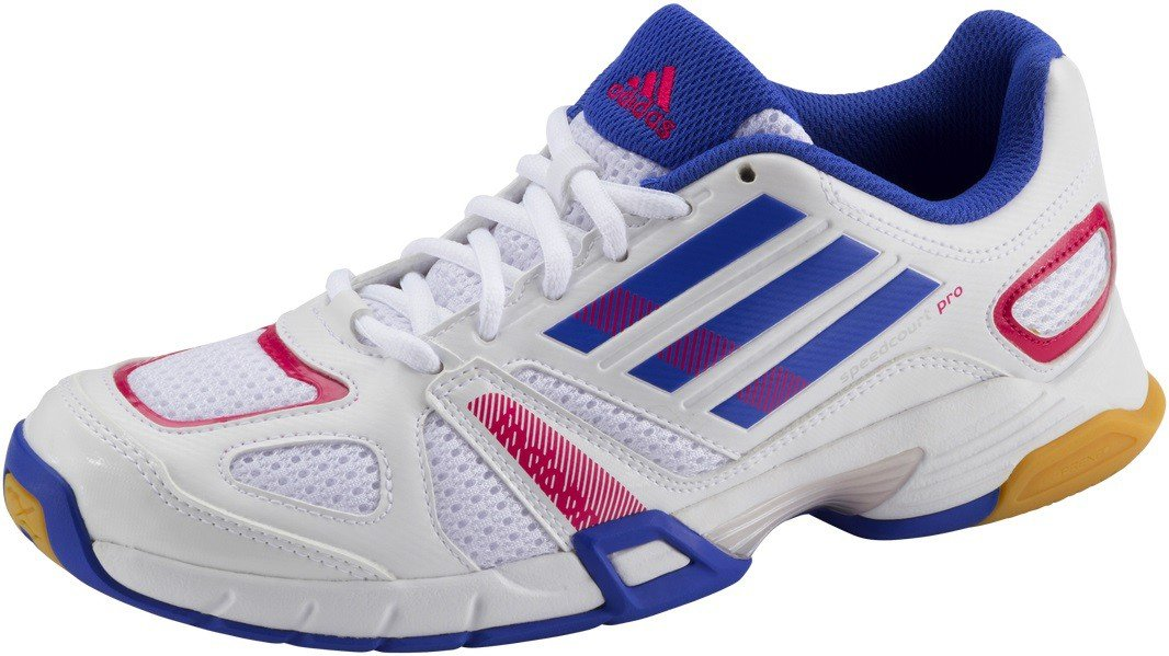 Adidas Damen Hallenschuh Hallenschuh Hallenschuh Sportschuhe speedcourt Pro damen Weiss Blau G62511 84ea85