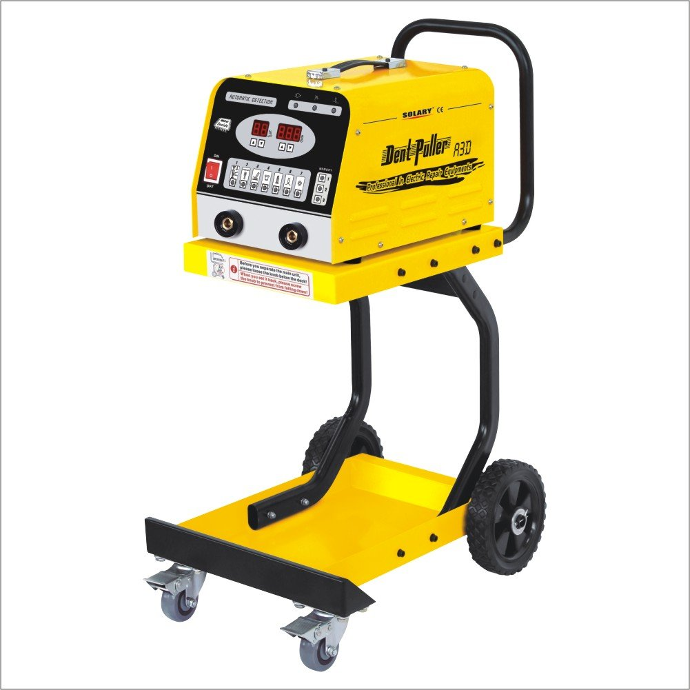 SOLARY A3D Spot Welding Machine 1300A Innovational Digital Car Puller Dent pulling machine Spotter welders 220V by Solary