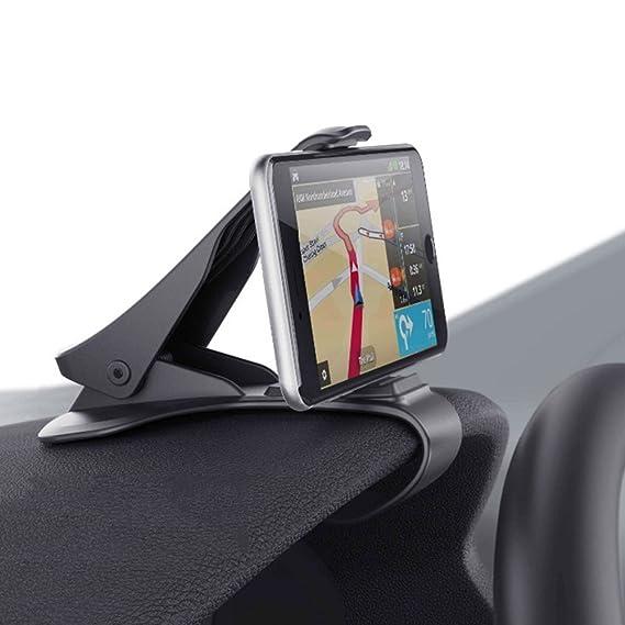 08f6d611e4ce26 Smartphone Car Mount, HUD Simulating Atex Design Phone Crocs Jaw Dashboard  Clip Holder Cradle Phone