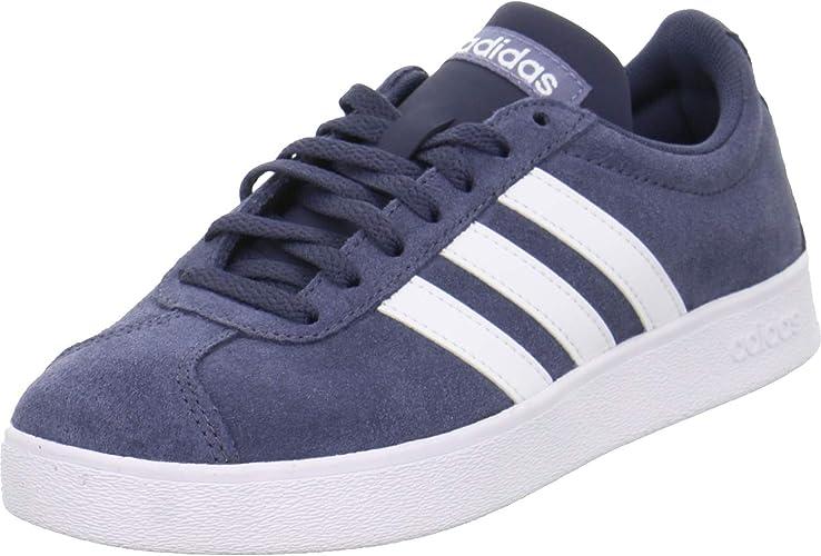 adidas Sneaker Low VL Court 2.0 Größe 44 Blau (Blau): Amazon ...