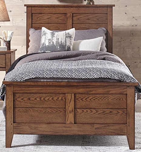Liberty Furniture 175-YBR-TPB Grandpa's Cabin Twin Panel Bed, 44