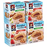 Start your day right with delicious and convenient Quaker Breakfast Squares Soft Baked Bars. We've paired real fruit whole wheat, and whole grain Quaker oats with 23g fiber. It's a scrumptious way to help fuel your day. This new variety pack ...