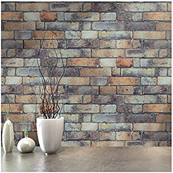 Haokhome H1083 Faux Stone Wallpaper Peel Amp Stick Wall