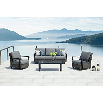 Exceptionnel Ove Augusta 4 Piece Conversation Set