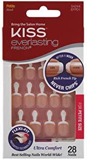 Kiss Everlasting French Nail Kit Petite 28 Nails (6 Pack)