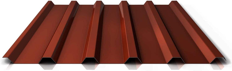 Farbe Anthrazitgrau St/ärke 0,50 mm Profilblech Material Stahl Beschichtung 60 /µm Dachblech Trapezblech Profil PS35//1035TRA
