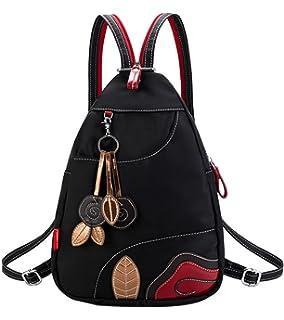 BAAFG Womens Oxford Backpack Backpack Nylon,Green-L
