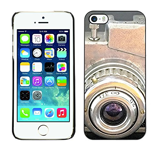 Premio Sottile Slim Cassa Custodia Case Cover Shell // F00024296 caméra Antique // Apple iPhone 5 5S 5G